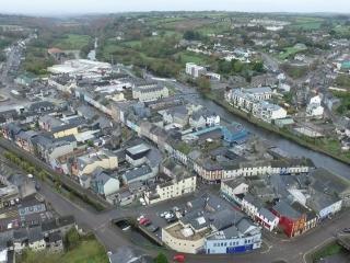 Bandon Ireland aerial view