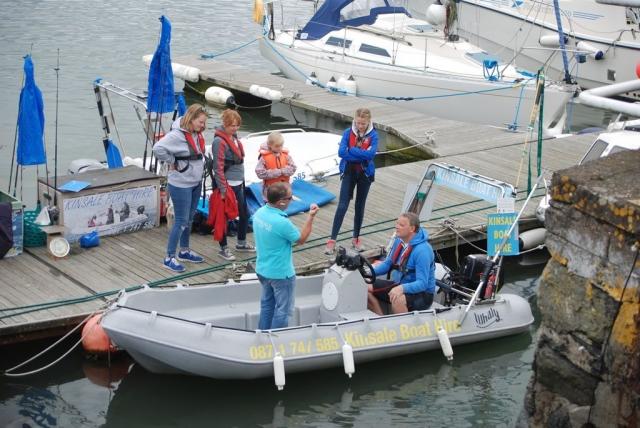 boat hire at kinsale co cork
