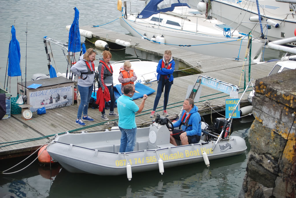 boat hire at kinsale co cork