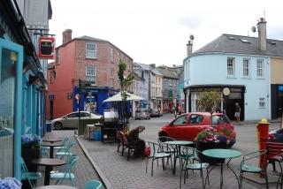 kinsale street scene