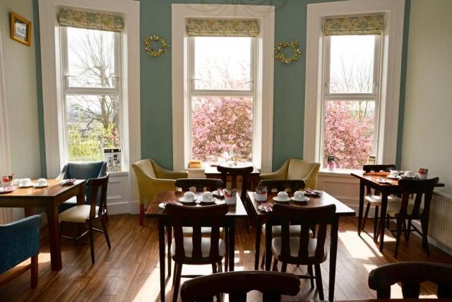 gabriel guest house cork breakfast room