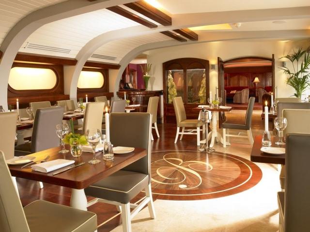 Blue Haven Hotel Kinsale dining room