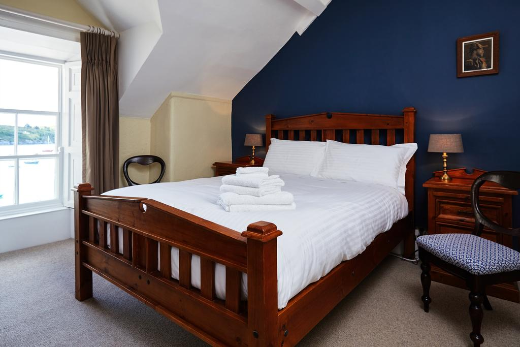 The Castle Castletownshend double bed