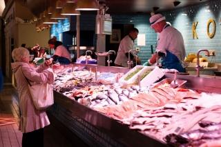O'Connells Fishmongers English Market Cork