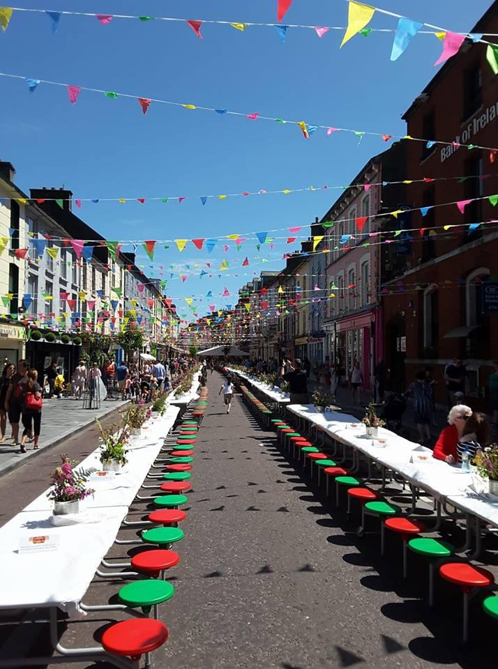 Clonakilty Street Carnival longest table
