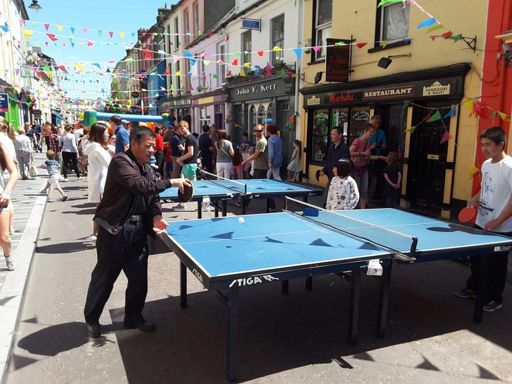 Clonakilty Street Carnivaltable tennis