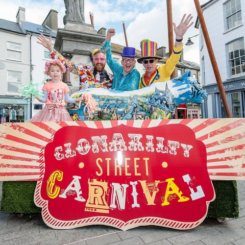 Clonakilty Street Carnival sign