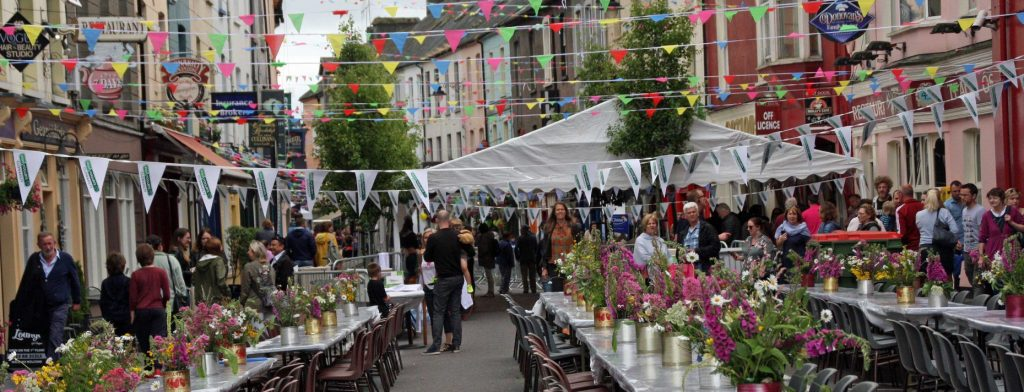 Clonakilty Street Carnival street party