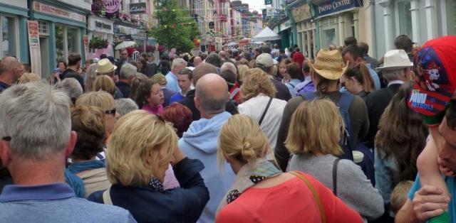 Clonakilty Street Carnival crowd